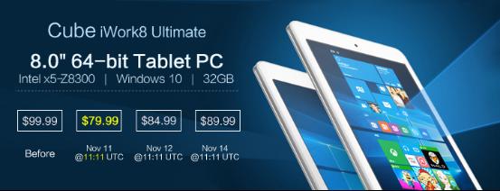 Tableta Cube iWork 8 poate fi achiziționată la un preț de doar 80 dolari (~330 lei); iată ce primim pentru această sumă