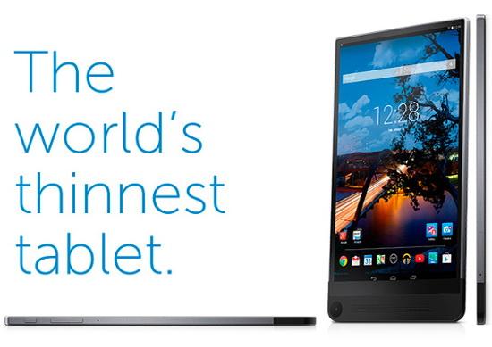 Dell Venue 8 7000 - Cea mai subtire tableta din lume