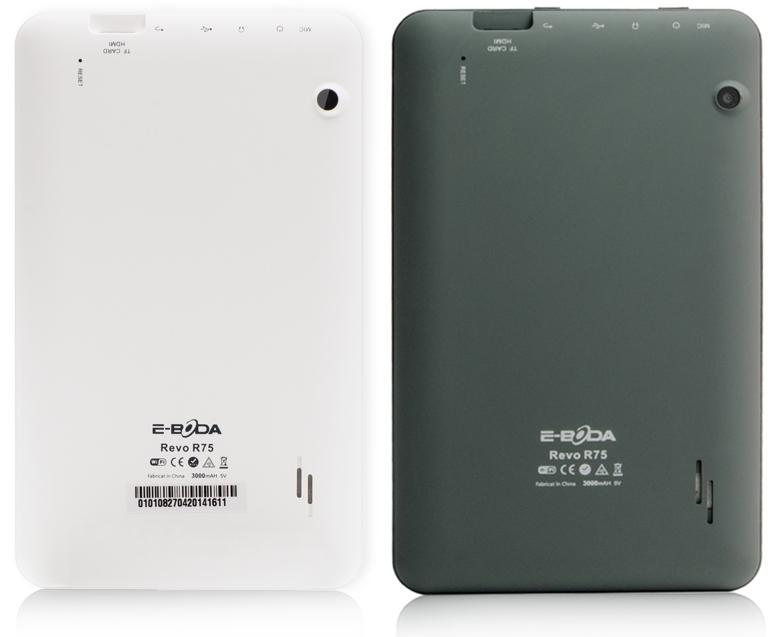 E-Boda lansează tableta Revo R75; vine cu display de 7 inch și costă 329 lei