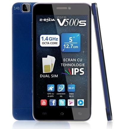 E-Boda lansează smartphone-urile Storm V500 și V500s; prețuri Începând de la 649 lei