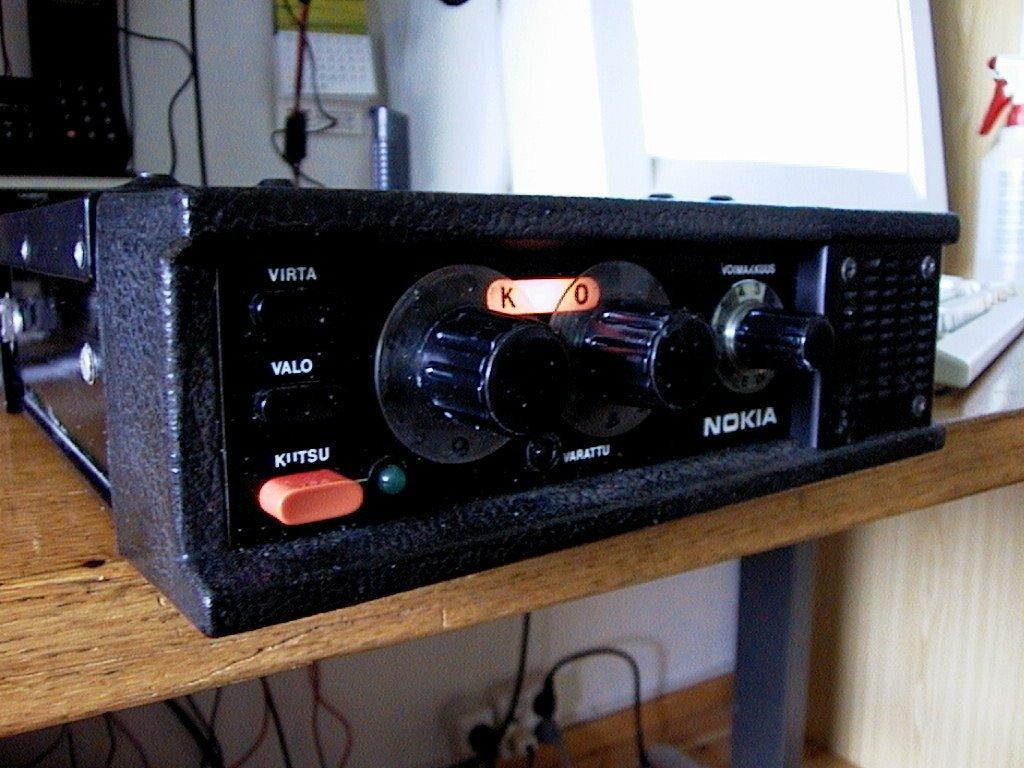 În 1979 Nokia fuzionează cu Salora Oy sub denumirea de Mobira Oy