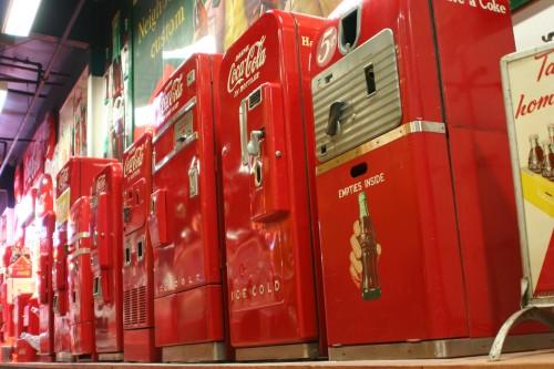 Carnegie-Mellon Computer Science instalau un sistem ataşat tonomatului care le vindea Coca Cola