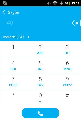 smartphone ca telefon skype fix