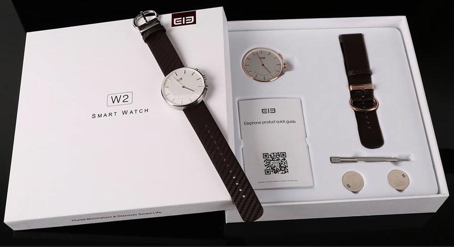 Elephone dezvăluie o serie de fotografii hands-on cu smartwatch-ul W2; iată cum se prezintă acesta