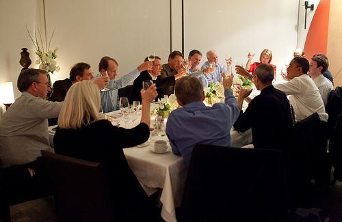 Președintele Obama se Întâlnește cu Zuckerberg și Steve Jobs; dineu oficial sau planuri mari?