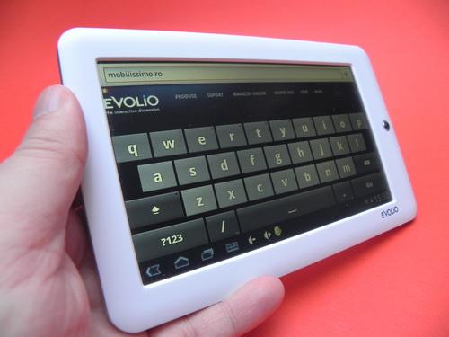 Tastatura virtuala Evolio Evotab 2