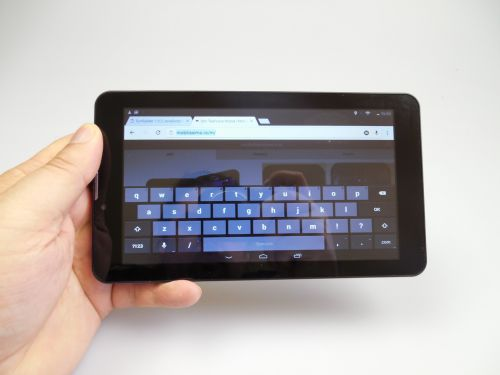 Tastatura lui Evolio GO Fun 3G