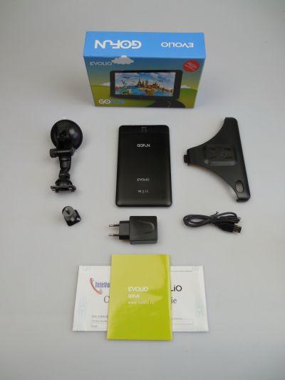 Evolio GO Fun 3G Unboxing + concurs: cutie colorată cu multe accesorii GPS auto şi hărţi la pachet (Video)