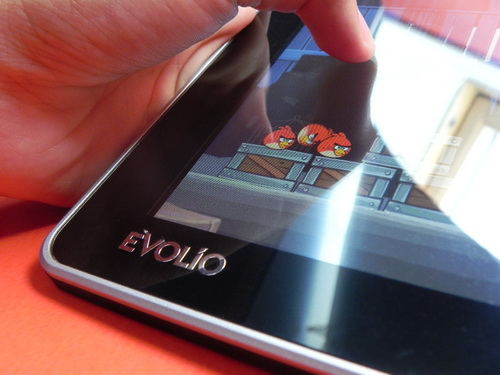 Angry Birds pe Evolio Neura