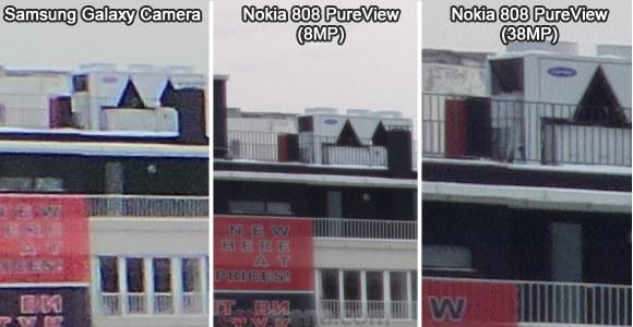 Nokia 808 PureView pus la bătaie contra lui Samsung Galaxy Camera; Iată rezultatele!