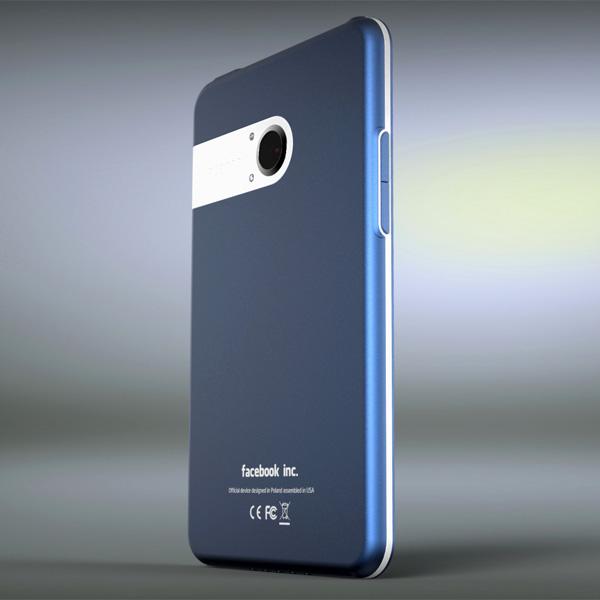 Așa ar putea arăta Facebook Phone - design concept În viziunea lui Michal Bonikowski