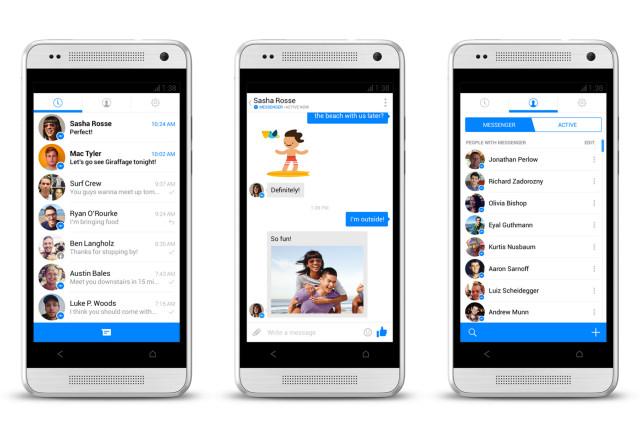 Facebook Messenger primește un nou update pentru testeri; aduce interfață Holo