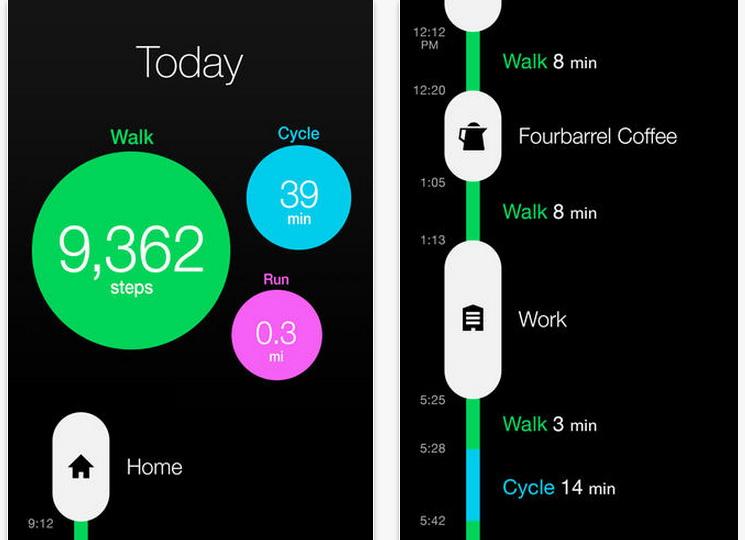 Facebook cumpără Moves, o aplicație de fitness tracking