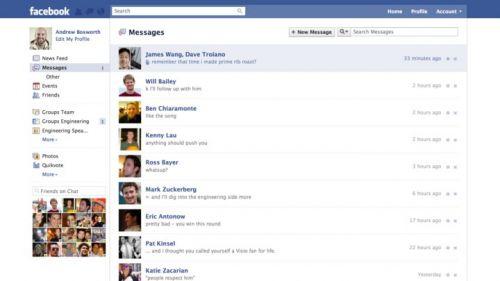 Facebook anunță un nou serviciu de mail