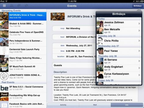 În sfârșit o aplicație Facebook oficială pentru iPad - detalii ascunse În noua aplicație FB pentru iPhone