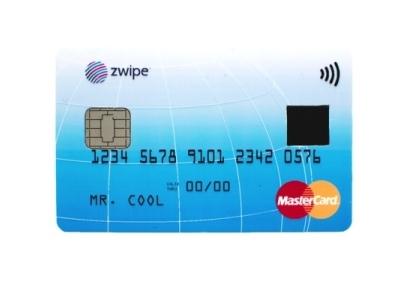 MasterCard dezvăluie cardul Zwipe; acesta va sosi cu un senzor pentru amprente și tehnologia NFC