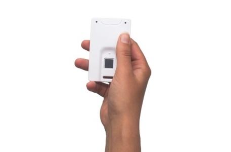Master Card NFC si senzor de amprente