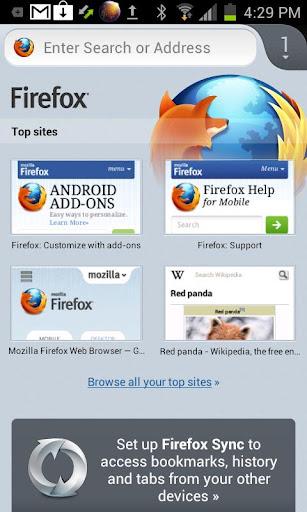 Browserul Firefox pentru Android primește un update consistent de performanță, suport pentru tablete
