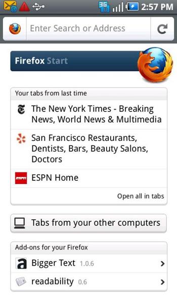 Firefox 4, disponibil acum pe Android; Iată noile funcții! (Video)