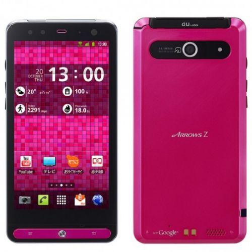Încă un telefon cu ecran 720p: Fujitsu Toshiba Arrow Z, dotat cu CPU dual core TI