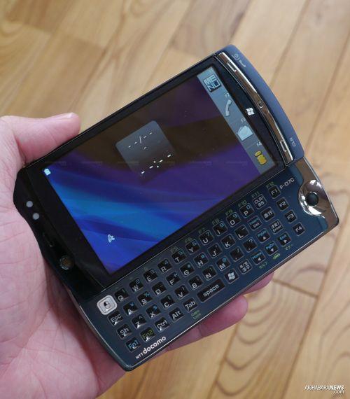 Fujitsu lansează telefonul Windows 7 F-07C