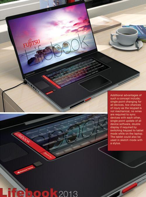 Laptop, tabletă, cameră și telefon simultan - acesta este Fujitsu Lifebook 2013