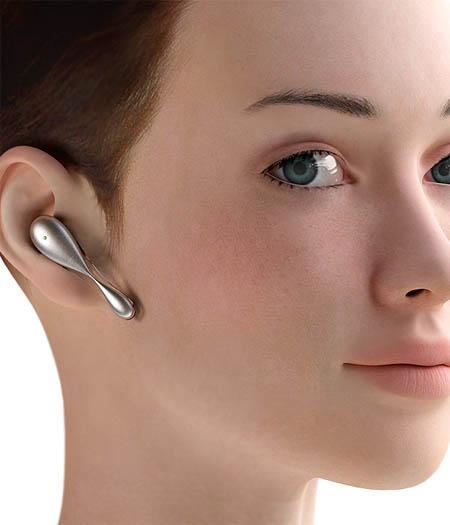 Un nou headset Bluetooth concept, definitia elegantei, acum la dimensiuni minuscule
