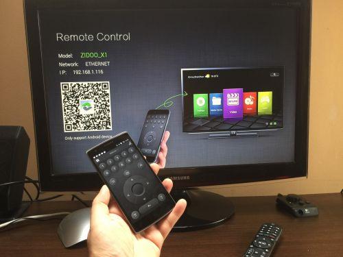 Zidoo X1 remote