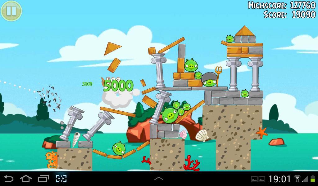 Angry Birds Seasons Piglantis