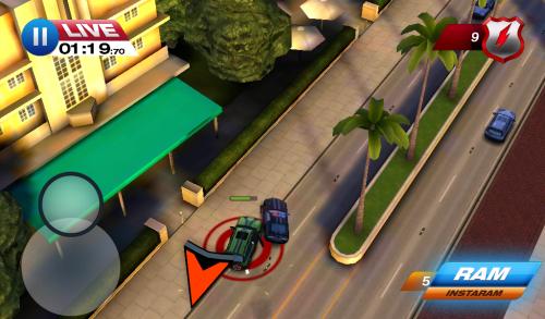 Smash Cops Heat Review: o frântură din experiența veche GTA (Video/ Samsuntg Galaxy Tab 3 Lite Gameplay)