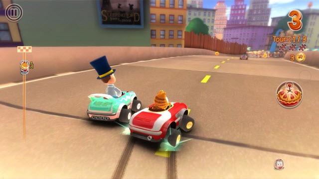 Garfield Kart review: un joc distractiv de karting, cu câteva defecte majore (Video)