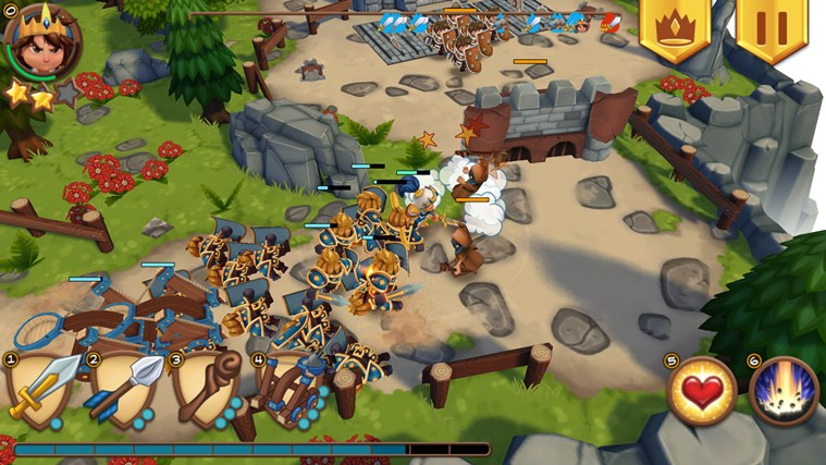 Royal Revolt review: un tower offense testat pe Nokia Lumia 1320 (Video)