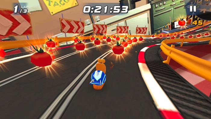 Turbo Racing League: joc amuzant cu melci turbo puși la curse (Video)