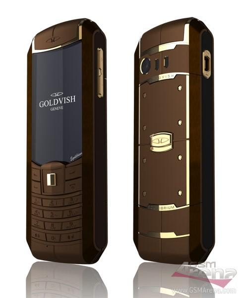 Telefon dual SIM de lux - Goldvish Equilibrium, placat cu aur și platină