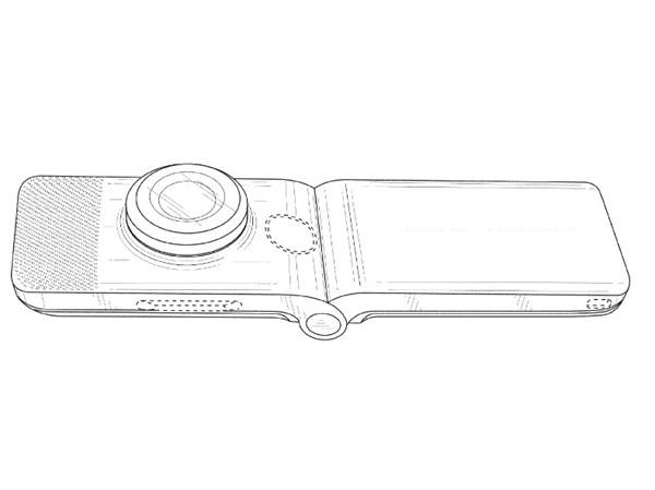 Google primeşte un brevet pentru un cameraphone cu clapetă şi posibil chiar flexibil