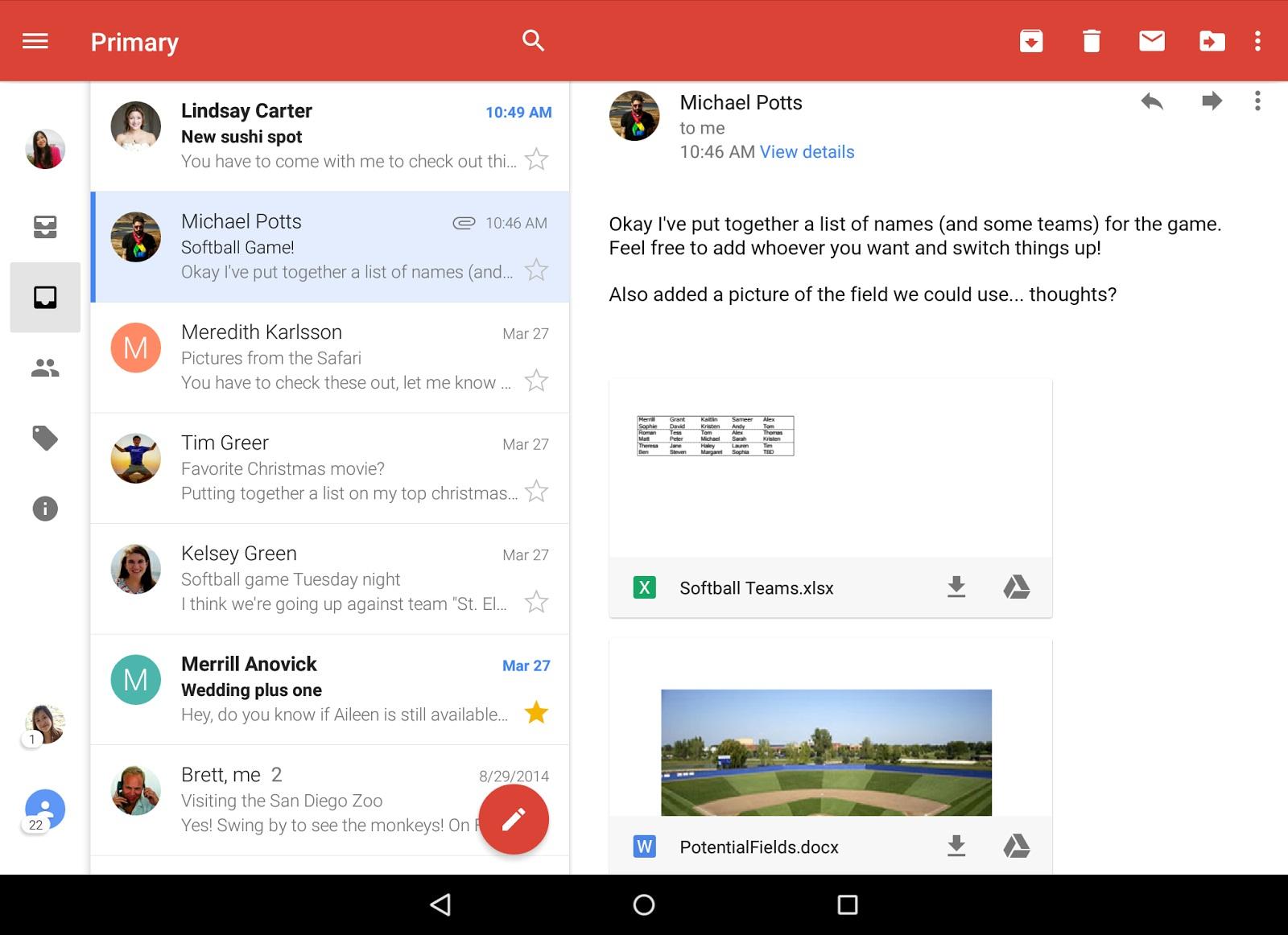 Gmail primeşte o actualizare care îi aduce Inbox unificat, căutare îmbunătăţită şi altele