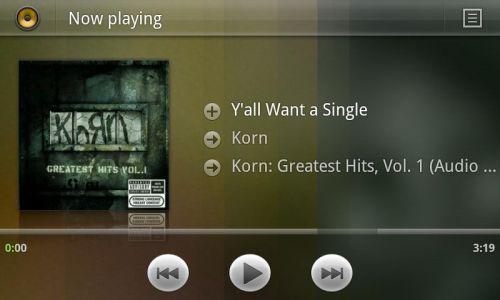Android 3.0 Honeycomb Își dezvăluie playerul audio - o scăpare de zile mari (Video)