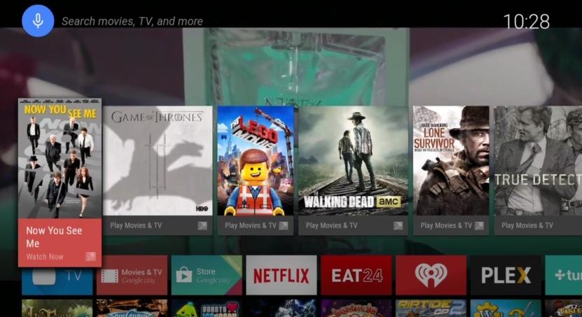 Google prezintă platforma Android TV; ni se pun la dispoziție numeroase funcții de cautare vocale, gaming și casting