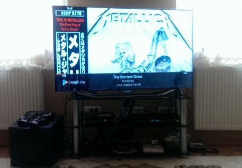 Metallica pe TV via Chromecast, de pe telefon