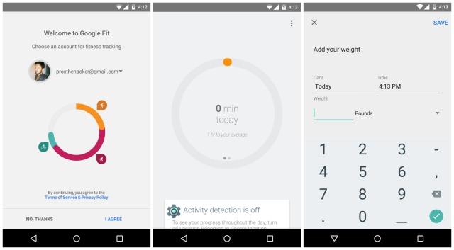 Google Play Music, Messenger și Google Fit se afișează În capturi de ecran pentru Android 5.0