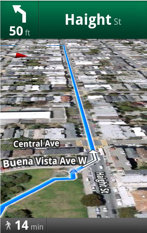 Niciodata ratacit cu Walking Navigation (Beta), functie extra pentru Google Maps si Street View (Video)