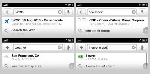 Google Mobile pe iPhone primeste suport Push