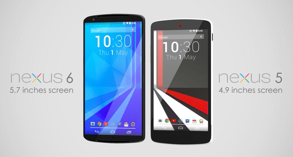 HTC Nexus 6 versus Nexus 5 Într-un nou concept (Video)