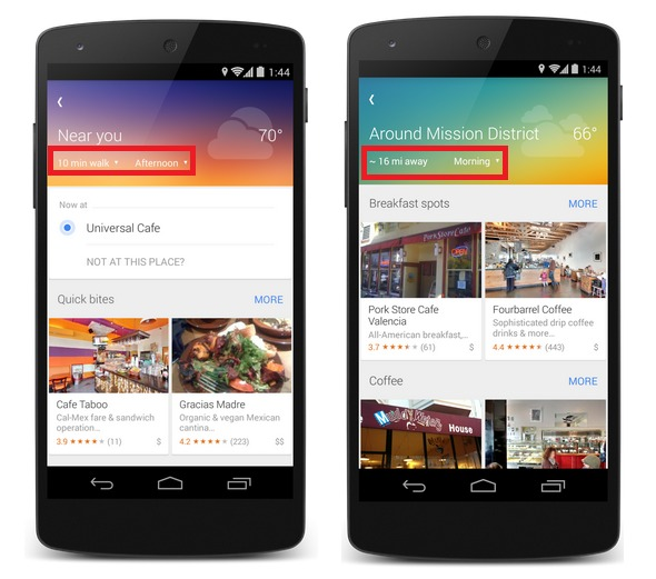 """Aplicația Google Maps pentru iOS și Android e actualizata, primește butonul """"Explore"""" activat contextual"""