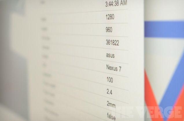 Prima fotografie făcută cu camera tabletei Google Nexus apare pe web: tavanul din sediul Google!