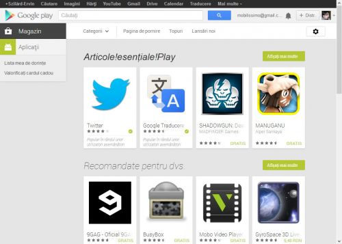 Google modifica interfața web a lui Play Store, evoluează În direcția de pe Android