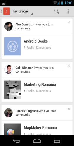 Noul Google+