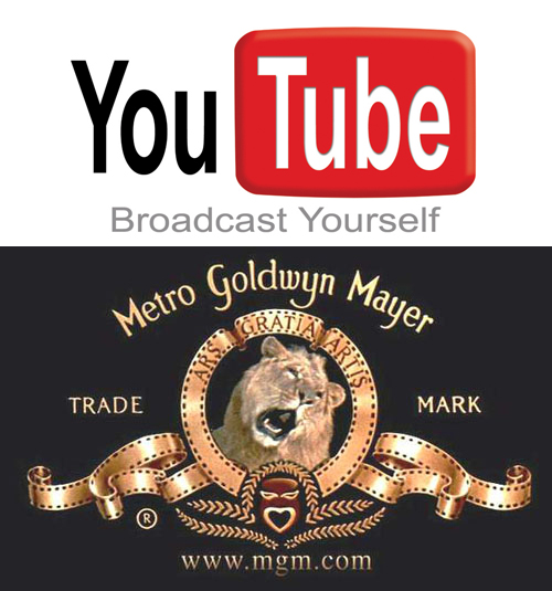 YouTube si MGM vor colabora