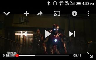 Cea mai nouă versiune a aplicaţiei YouTube pentru Android (10.43) primeşte câteva funcţii noi, printre care şi fast forward şi rewind