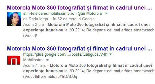 Google nu va mai afișa fotografiile autorilor de articole cu cont Google+ asociat